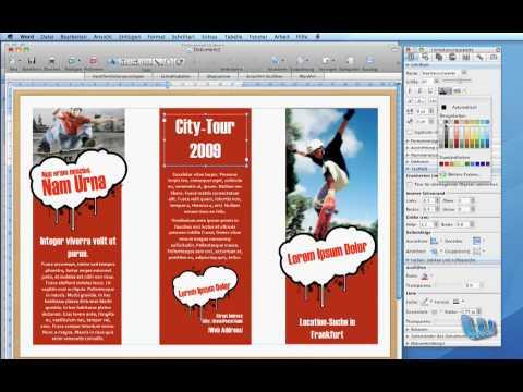 Broschüre Erstellen Word 2007 Kebut
